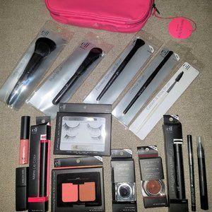16 ELF Makeup Bundle with Cosmetic Bag